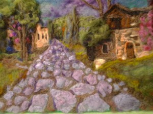"""old house in Italy 11x14"""""""