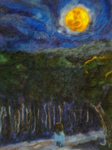 moon light hike , wondering soul series